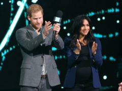 Harry and Meghan have signed a deal with Spotify (Jonathan Brady/PA)