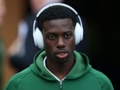 Timo Weah has backed his former club Celtic to save their season (Andrew Milligan/PA)