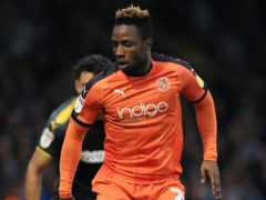 Luton's Kazenga LuaLua could be pushing for a starting place for the visit of QPR (Mike Egerton/PA)