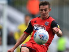Max Wright could return for Grimsby for their League Two clash against Carlisle (Mike Egerton/PA)