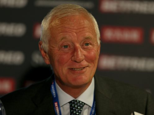 Barry Hearn has been awarded an OBE for services to sport (Richard Sellers/PA)