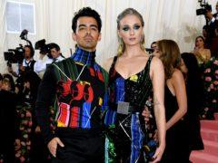 Joe Jonas and Sophie Turner (Jennifer Graylock/PA)