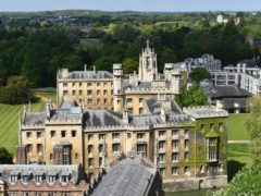 St John's College at Cambridge University (PA)