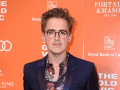Tom Fletcher has got a new tattoo (Matt Crossick/PA)
