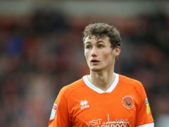Matty Virtue is on the comeback trail for Blackpool (Nigel French/PA)