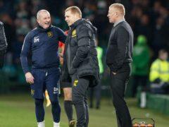 David Martindale, left, has been appointed Livingston manager (Steve Welsh/PA)