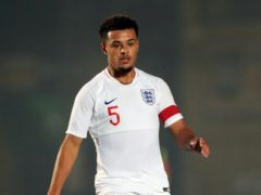 England Under-20s defender Joel Latibeaudiere made his Swansea debut at the weekend (Mike Egerton/PA)
