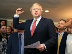 Boris Johnson savoured a landslide victory in the 2019 election (Lindsey Parnaby/PA)