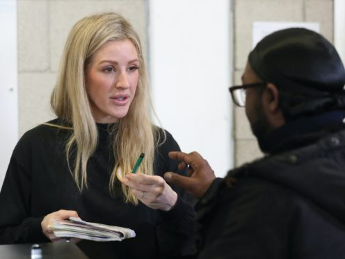 Ellie Goulding has become an ambassador for homelessness charity Crisis (Jonathan Brady/PA)