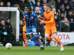 "Rochdale's Kwadwo Baah was hailed a ""special talent"" by boss Brian Barry-Murphy (Richard Sellers/PA)"