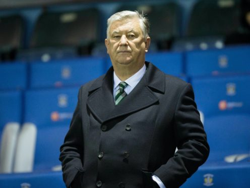Celtic chief executive Peter Lawwell backs under fire boss Neil Lennon (Jeff Holmes/PA)