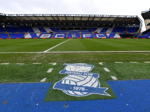 Birmingham chief executive Xuandong Ren has been fined £7,500 by the Football Association (Dave Howarth/PA)