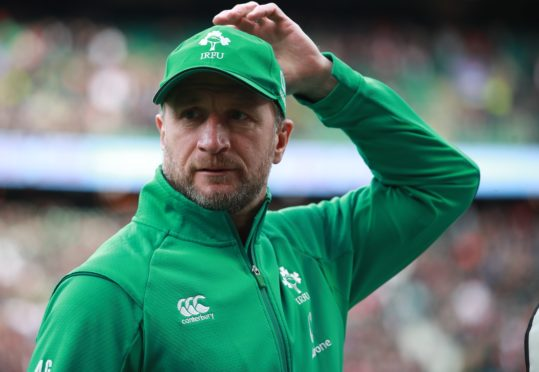 Assistant coach Mike Catt has challenged Ireland's players to produce a performance to remember (Adam Davy/PA)