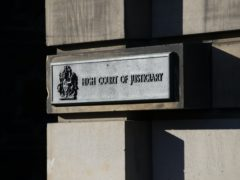 The trial is taking place at the High Court in Edinburgh (Jane Barlow/PA)
