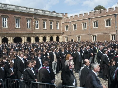Boris Johnson is the 20th PM to have been educated at Eton (PA)