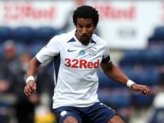 Scott Sinclair may have suffered a hamstring injury in Preston's win at Derby (Nick Potts/PA)