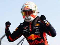 Max Verstappen took pole position from Mercedes in Abu Dhabi (Bryn Lennon/PA)