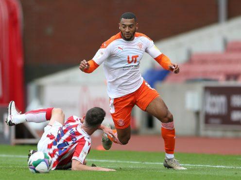 Keshi Anderson was Blackpool's matchwinner (PA)