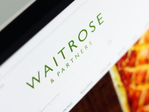 Waitrose said it expects many trends which emerged during the pandemic to continue (Tim Goode/PA)