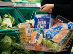 Grocery bills are expected to rise if a Brexit deal is not secured (Dave Thompson/PA)
