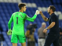 Kepa Arrizabalaga will make his first Chelsea appearance since October in Tuesday's Champions League clash with Krasnodar (Richard Heathcote/PA)