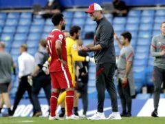"""Liverpool manager Jurgen Klopp is not worried about handling """"special"""" players like Mohamed Salah (Matt Dunham/PA)"""