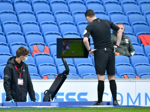 Brighton have had their fair share of VAR controversies this season, both in their favour and against (Glyn Kirk/PA)