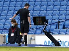 Brighton have been involved in several VAR controversies this season at the Amex Stadium (John Sibley/PA)