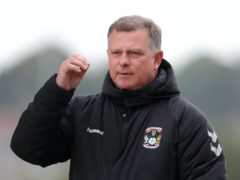 Coventry manager Mark Robins believes his side deserved maximum points against Huddersfield (Richard Sellers/PA)