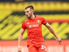 Sheffield United's Rhys Norrington-Davies has impressed on loan at Luton this season (Nigel French/PA)