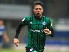 Rochdale's Alex Newby scored twice in the win at Wigan (Adam Davy/PA)