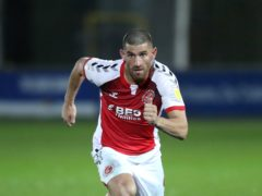 Ched Evans is set to leave Fleetwood (Martin Rickett/PA)