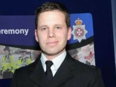 Detective Sergeant Nick Bailey, the police officer who fell seriously ill after being poisoned in the Salisbury Novichok attack (Wiltshire Police/PA)