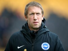 Graham Potter insisted his Brighton squad's full attention is focused on their upcoming trip to Fulham (Nick Potts/PA)