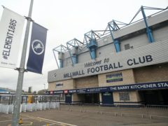 Millwall's games will be off (Kieran Cleeves/PA)
