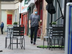 UK economic growth slowed sharply in October as restrictions were tightened to control the spread of a relentless second wave of Covid-19, official figures show (Andrew Milligan/PA)