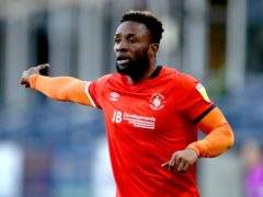 Kazenga LuaLua scored after coming on as a substitute on Boxing Day (Tim Goode/PA)