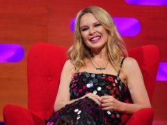 Kylie Minogue has been dating Paul Solomons since 2018 (Matt Crossick/PA)