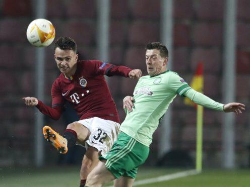 Celtic were second best against AC Milan (Petr David Josek/AP)