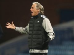 Jorge Jesus is in his second spell in charge of Benfica (Andrew Milligan/PA)