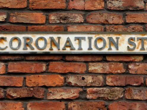 Coronation Street sign in Manchester (Dave Thompson/PA)