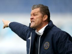 Shrewsbury manager Steve Cotterill hailed his side's application at Hull (Nick Potts/PA)