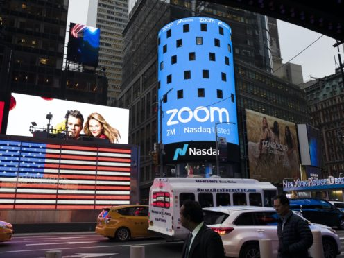 Zoom highlighted its head-spinning success story again with the release of its quarterly results for the August to October period (Mark Lennihan/AP)