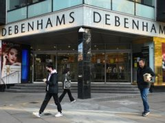 """Debenhams in Oxford Street, London, the 242-year-old department store chain said its administrators have """"regretfully"""" decided to start its liquidation process, while continuing to seek offers Kirsty O'Connor/PA)"""