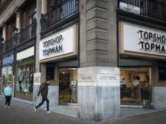 Arcadia's brands include Topshop (Jane Barlow/PA)