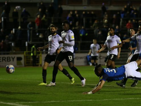Rhys Bennett scored Carlisle's second (Barrington Coombs/PA)