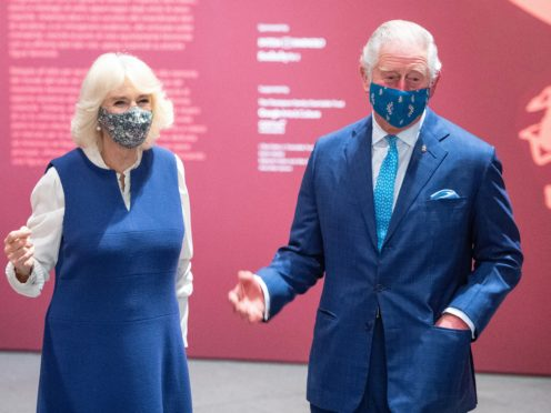 The Prince of Wales and Duchess of Cornwall (Dominic Lipinski/PA)