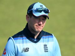 Eoin Morgan and England will have to wait a while for their first ODI to start (Shaun Botterill/PA)