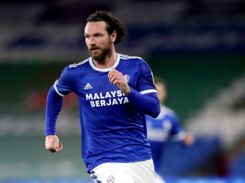 Sean Morrison netted the winner for Cardiff (David Davies/PA)