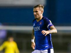 Nick Anderton opened the scoring for Carlisle (Barrington Coombs/PA)
